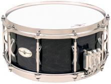 "Caixa clara Black Swamp, 6,5x14"", madeira Maple, modelo Multissonic com 5 esteiras"